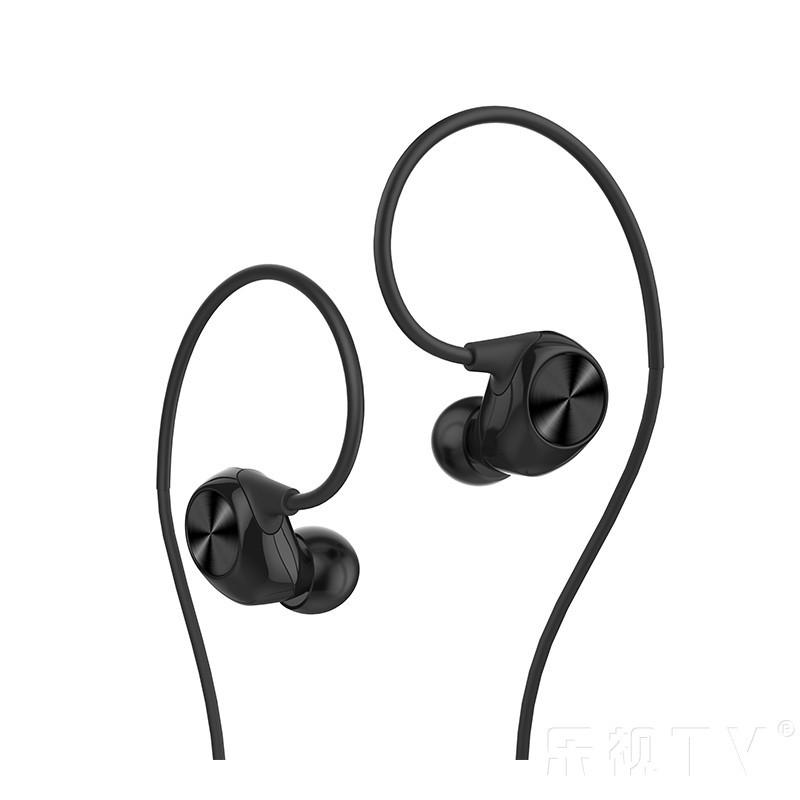 乐视黑色运动耳机入耳式原装