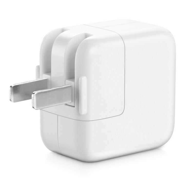 苹果ipad原装充电器10W/12W(二脚)