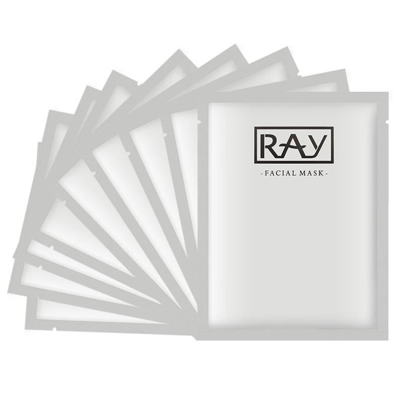 泰国RAY蚕丝面膜银色10片装