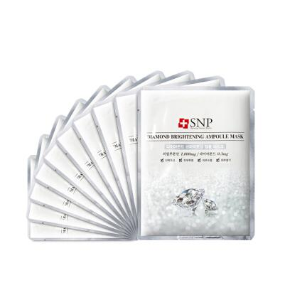 韩国SNP安瓶嫩白面膜10片