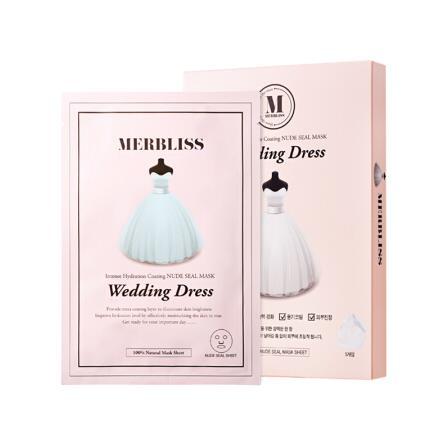 韩国MERBLISS茉贝丽丝婚纱面膜5片