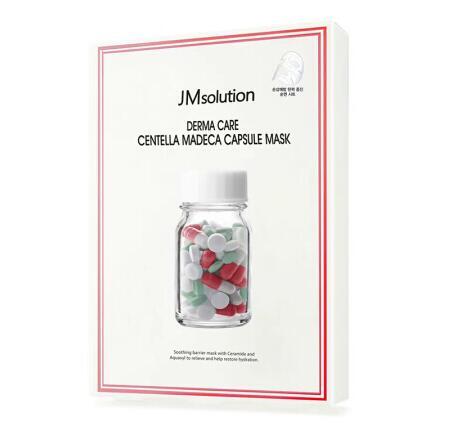 韩国JMsolution红色药丸面膜10片