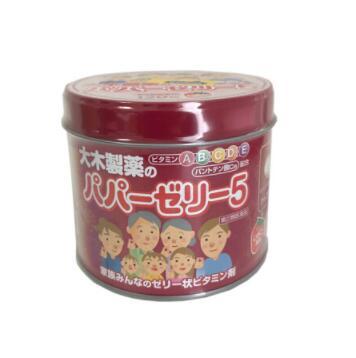 日本大木制药儿童宝宝复合维生素糖丸120粒