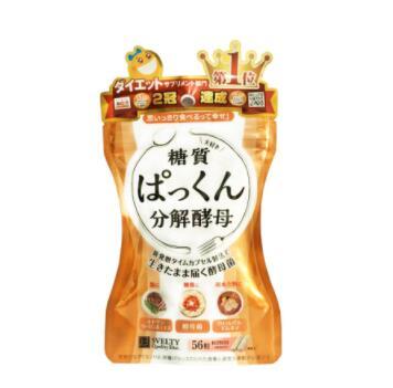 日本svelty糖质分解酵母56粒装
