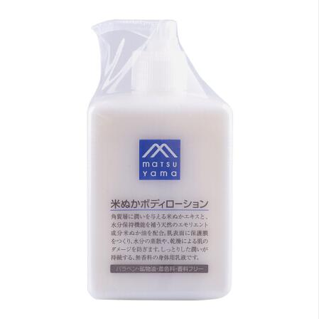 日本matsuyama松山油脂身体乳300ML