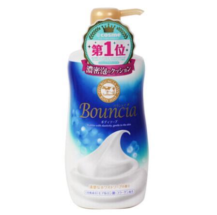 日本COW bouncia沐浴露550ML牛奶雅花香