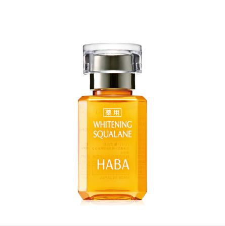 日本HABA鲨烷精纯VC美容油15/30ml小黄油