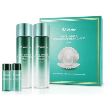 韩国JMsolution JM海洋珍珠水乳套盒