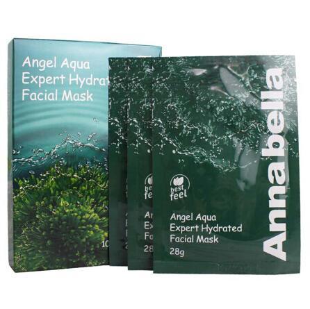 泰国ANNABELLA安娜贝拉海藻面膜10片装