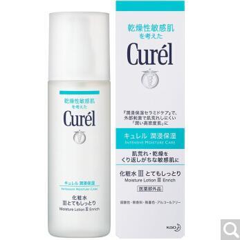 日本Curel珂润润浸3号化妆水滋润型150ml