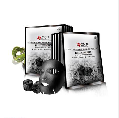 韩国SNP竹碳面膜10片
