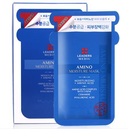 韩国LEADERS丽得姿氨基酸面膜10片