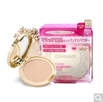 日本CANMAKE井田蜜粉饼M0适合白皙肤色