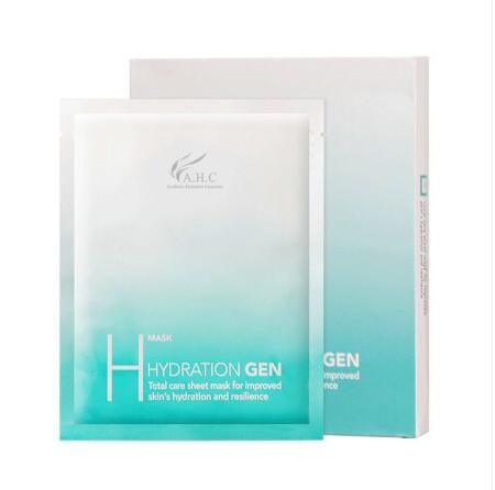 韩国AHC竹子面膜5片 冰凉舒缓