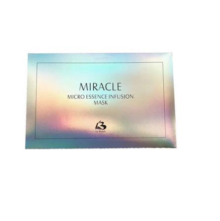 日本MIRACLE水母干细胞面膜5片装