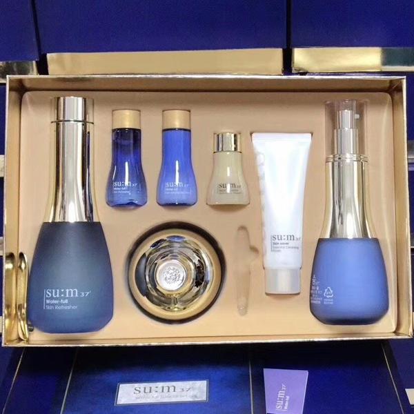 韩国sum37度呼吸蓝色水分惊喜套盒
