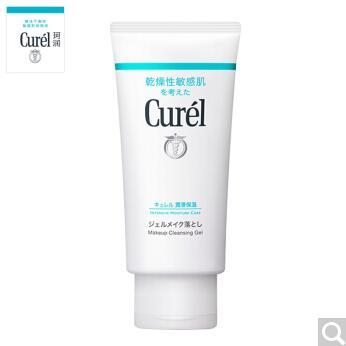 日本Curel珂润润浸保湿卸妆啫喱130G