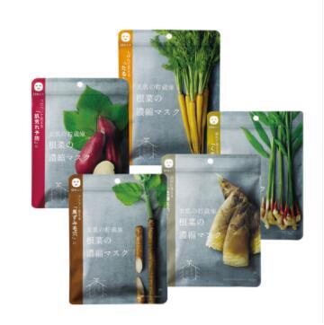 日本COSME NIPPON蔬菜根浓缩面膜10片装