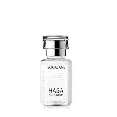日本HABA鲨烷精纯SQ美容油15ml小白油