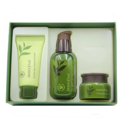 韩国innisfree悦诗风吟绿茶小绿瓶套盒