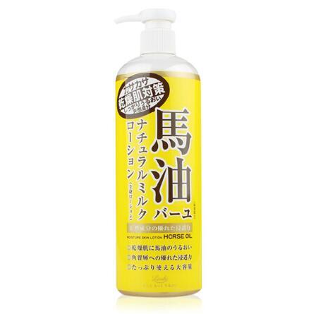 日本LOSHI北海道马油身体乳485ml