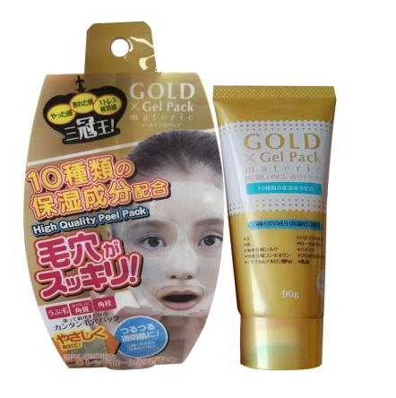 日本Black Gel Pack撕拉面膜金色款90G