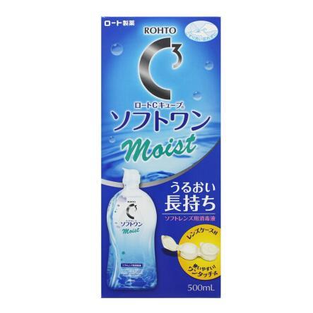 日本ROHTO乐敦C3洗眼液护理液500ml 滋润型&清凉型
