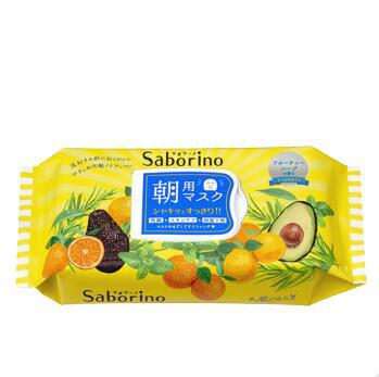 日本Saborino早安面膜黄色牛油果32片