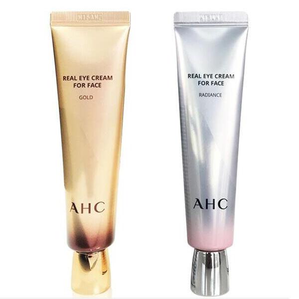 韩国AHC第七代眼霜30ml金色银色新款