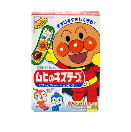 日本KOBAYASHI小林制药面包超人超可贴20枚