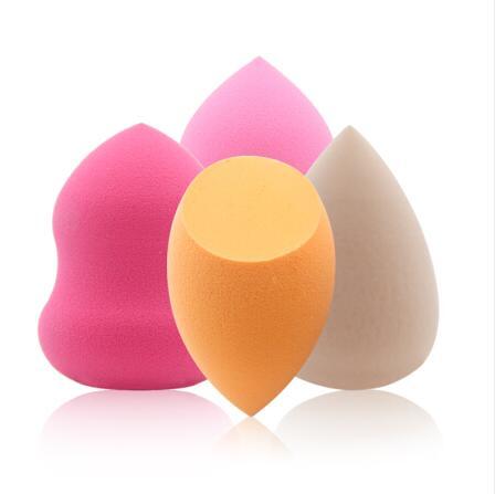 泰国TREECHADA化妆粉扑玫红色&粉色&肤色&淡黄色美妆蛋