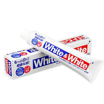 日本狮王white大白牙膏150G